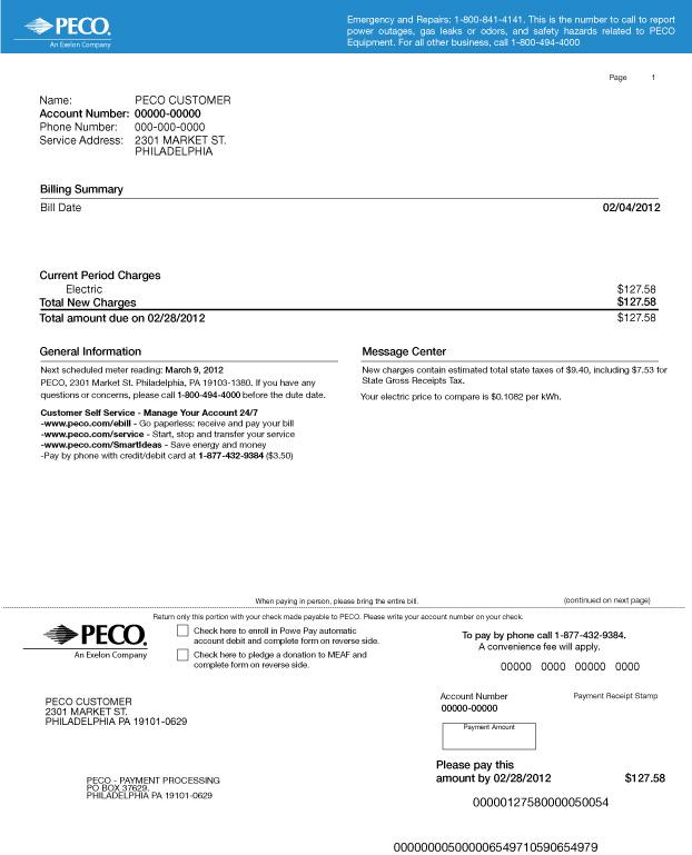 Peco Green Mountain Energy Company