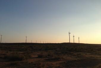 Wind Turbines in West Texas